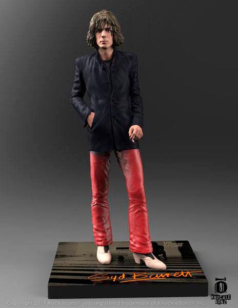 Estatua Syd Barrett 23 cm. Pink Floyd. Línea Rock Iconz. Knucklebonz