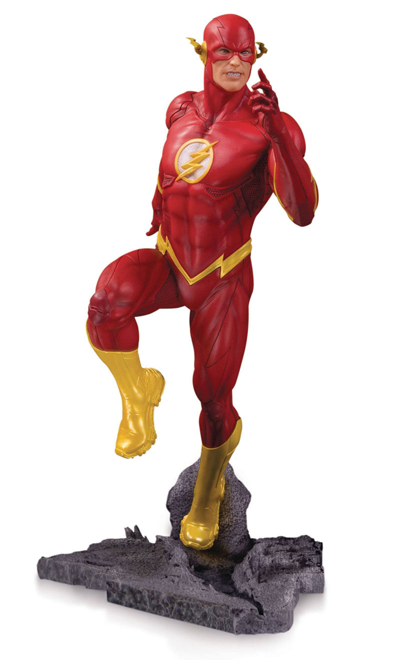 Estatua The Flash 23 cm. DC Gallery. DC Cómics. Edición limitada. DC Collectibles