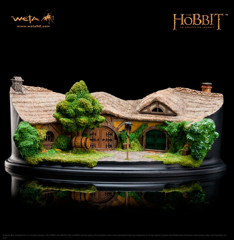 Estatua The Green Dragon Inn 9cm. El Hobbit: Un Viaje inesperado. Weta Collectibles