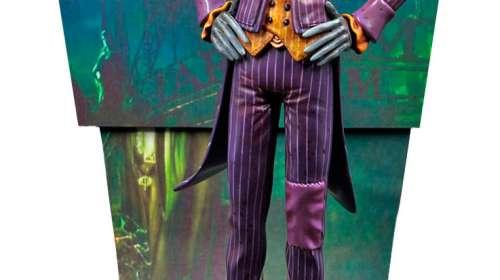 Estatua The Joker 25 cm. Batman: Arkham Asylum. Premium Motion. Factory Entertainment