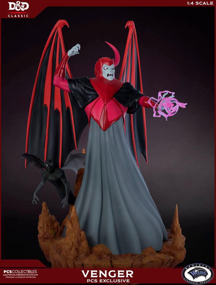 Estatua Venger 62 cm. Dragones y Mazmorras. Edición Exclusiva Limitada. PCS Collectibles
