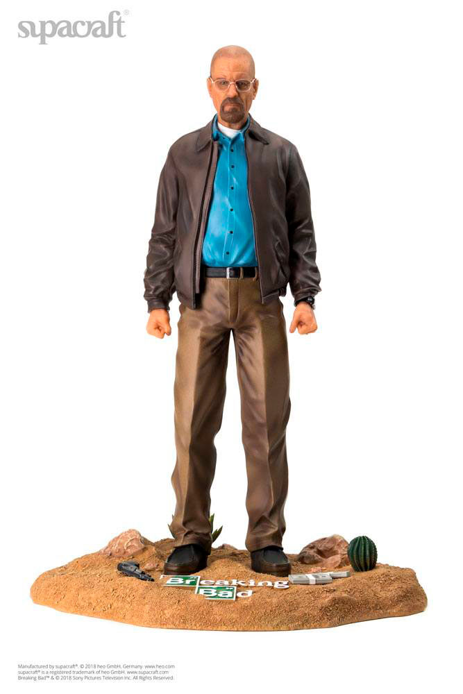 Estatua Walter White 47 cm. Breaking Bad. Edición limitada. Escala 1:4. Supacraft