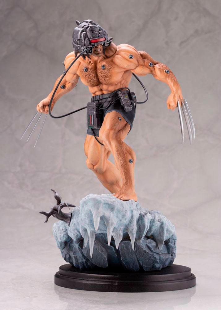 Estatua Wolverine 33 cm. Marvel Cómics. X-Men. By Erick Sosa. Escala 1:6. Kotobukiya