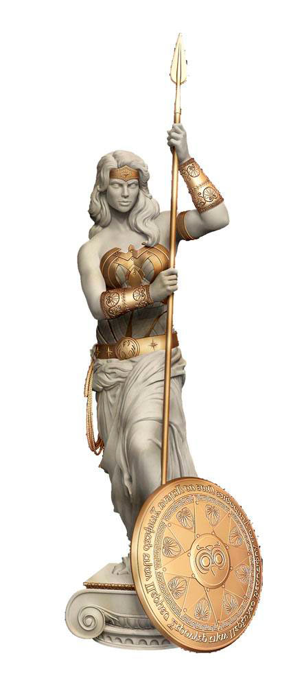 Estatua Wonder Woman: Princess of Themyscira 30 cm. DC Cómics. Cryptozoic Entertainment