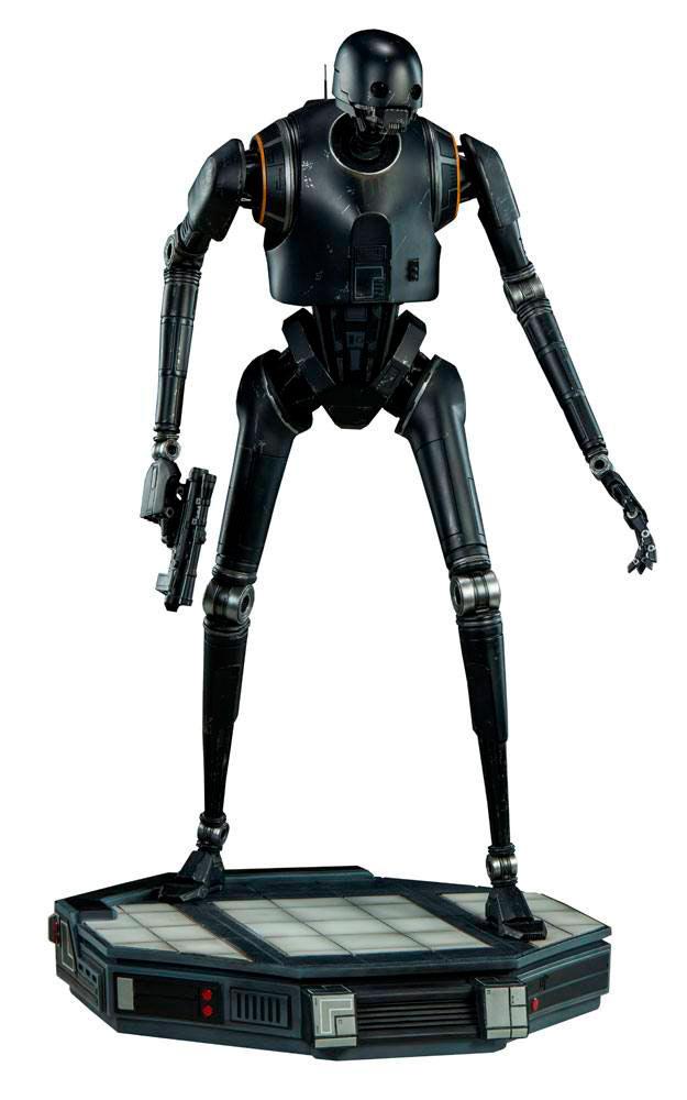 Estatua droide K-2SO de 56 cm. Rogue One: A Star Wars Story. Con luz. Premium Format. Sideshow Collectibles