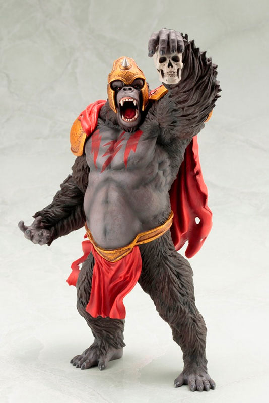 Estatua gorila Grodd 28 cm. The Flash. Línea ARTFX+. Escala 1:10. DC Cómics. Kotobukiya