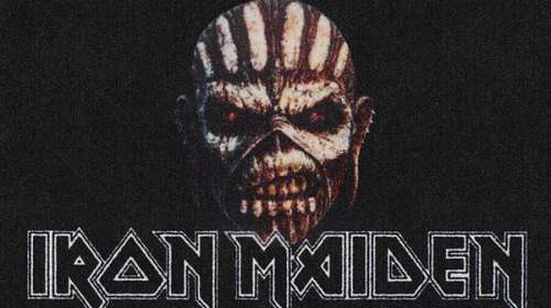 Felpudo Iron Maiden. The Book of Souls