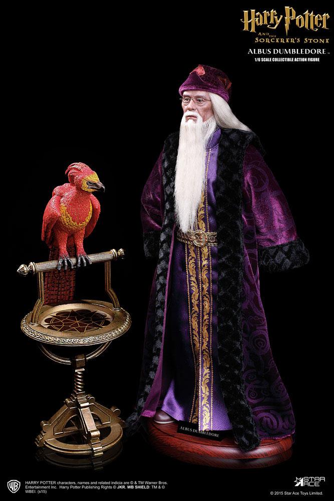 Figura Albus Dumbledore 31 cm. Harry Potter y la piedra filosofal. Versión Deluxe. Escala 1:6. Star Ace Toys
