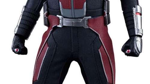 Figura Ant-Man: El Hombre Hormiga 30 cm. Capitán América: La Guerra Civil. Línea Movie Masterpiece. Escala 1:6. Hot Toys