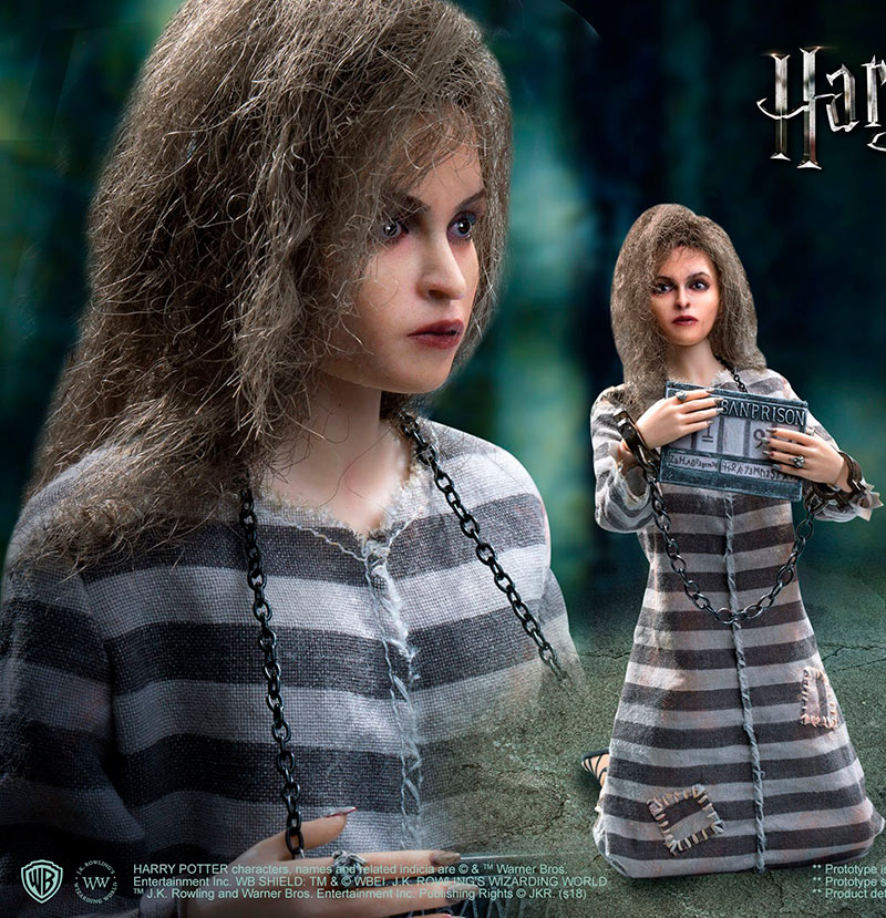 Figura Bellatrix Lestrange 30 cm. Harry Potter. Versión prisionera. My Favourite Movie. Escala 1:6. Star Ace Toys