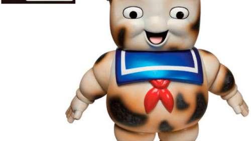 Figura Burnt Stay Puft 19 cm. Los Cazafantasmas. Línea Hikari Sofubi. Funko