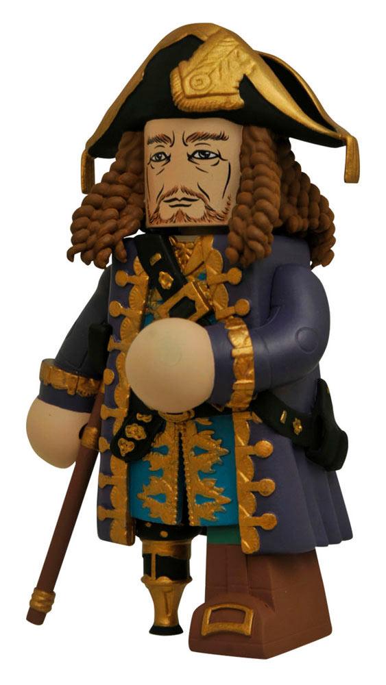 Figura Capitán Héctor Barbossa 10 cm. Piratas del Caribe: La Venganza de Salazar. Línea Vinimates. Diamond Select