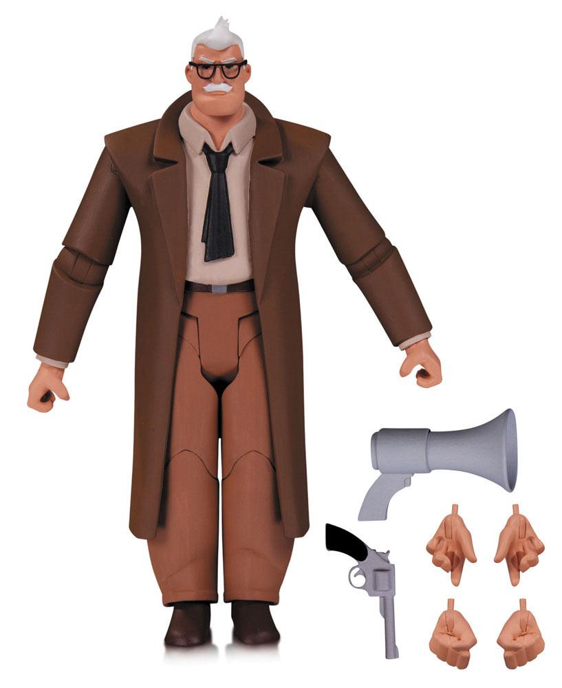 Figura Comisario Gordon 15 cm. Batman: la serie animada. DC Collectibles
