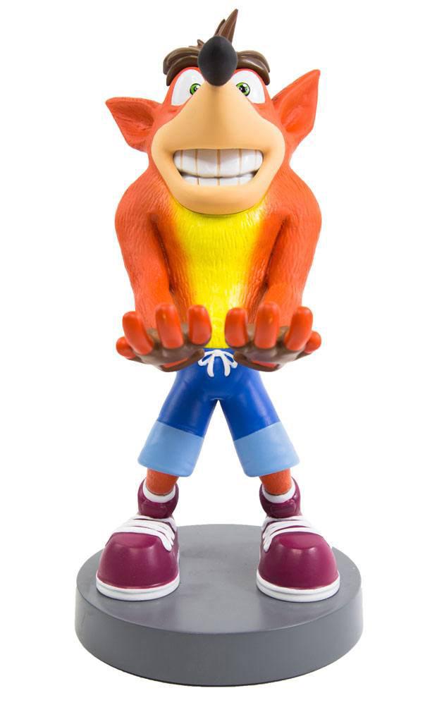 Figura Crash Bandicoot 20 cm. Soporte móviles y mandos videoconsolas