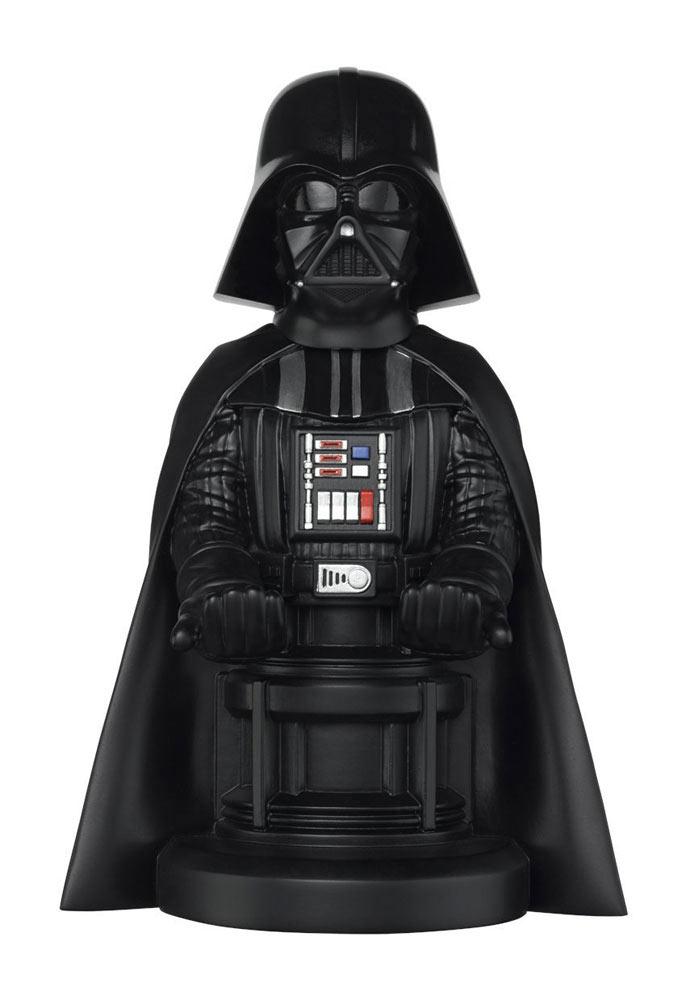 Figura Darth Vader 20 cm. Soporte móviles y mandos videoconsolas. Star Wars
