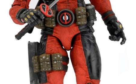 Figura Deadpool 45 cm. Escala 1:4. Marvel Cómics. NECA