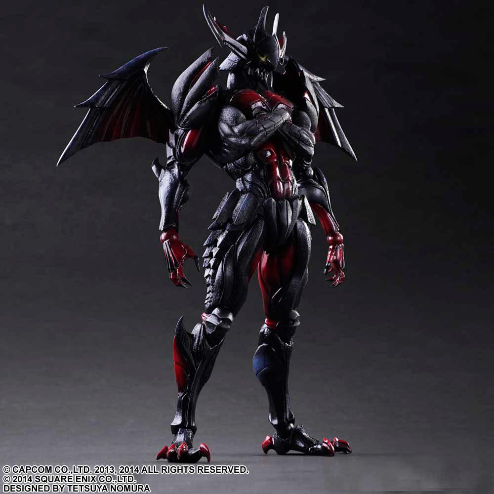 Figura Diablos Armor (Rage Set) 28 cm. Monster Hunter 4. Play Arts Kai. Square-Enix