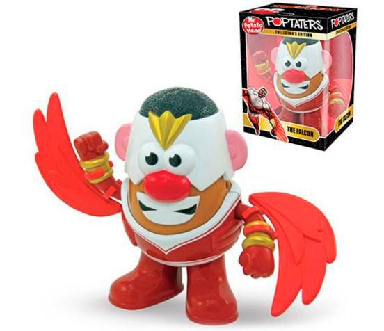 Figura Falcon como Mr. Potato