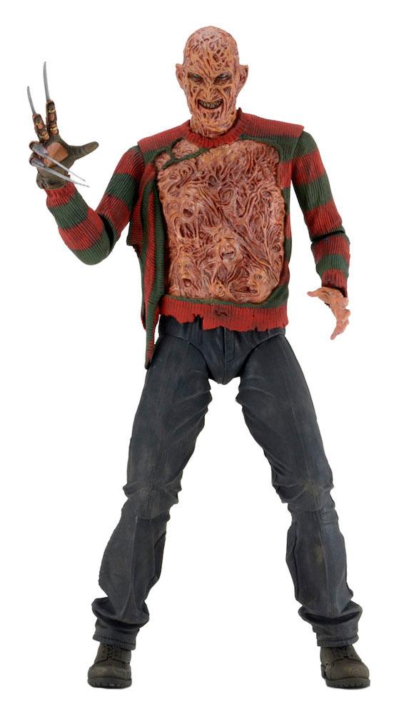 Figura Freddy Krueger 45 cm. Pesadilla en Elm Street 3: Los guerreros del sueño. Escala 1:4. NECA
