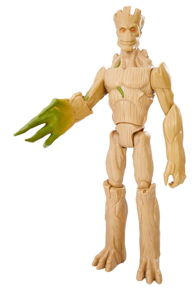 Figura Groot Extensible 30-38 cm. Guardianes de la Galaxia 2. Línea Titan Hero. Hasbro