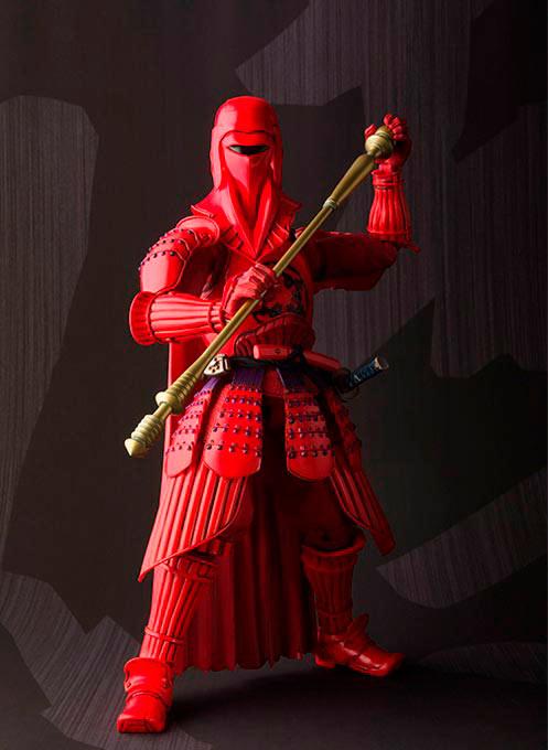 Figura Guardia imperial Akazonae 17 cm. Star Wars. Colección Mei Sho Movie Realization. Bandai