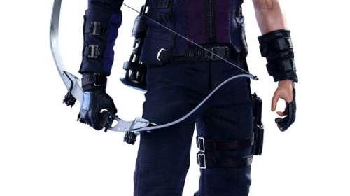 Figura Hawkeye (Ojo de Halcón) 30 cm. Capitán América: La Guerra Civil. Línea Movie Masterpiece. Escala 1:6. Hot Toys