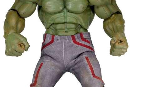 Figura Hulk 61 cm. Los Vengadores: la era de Ultrón. Escala 1:4. NECA