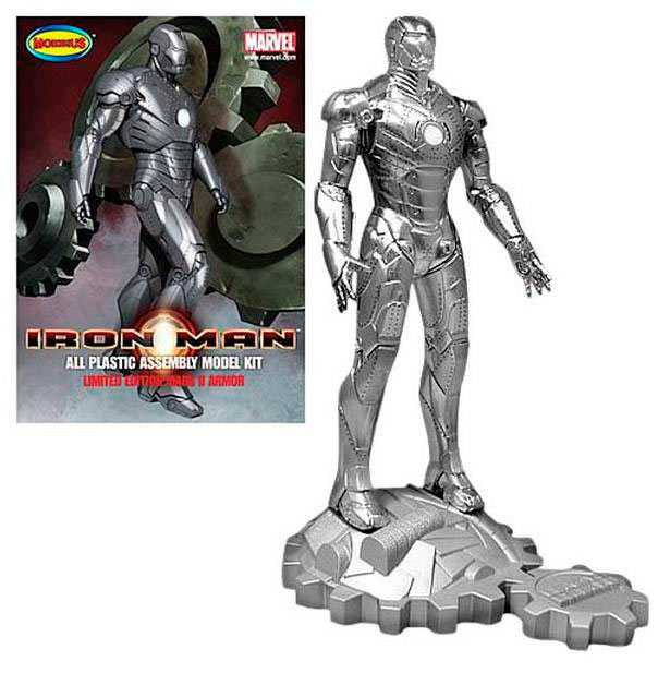 Figura Iron Man Mark II 20 cm. Kit de montaje. Marvel. Moebius