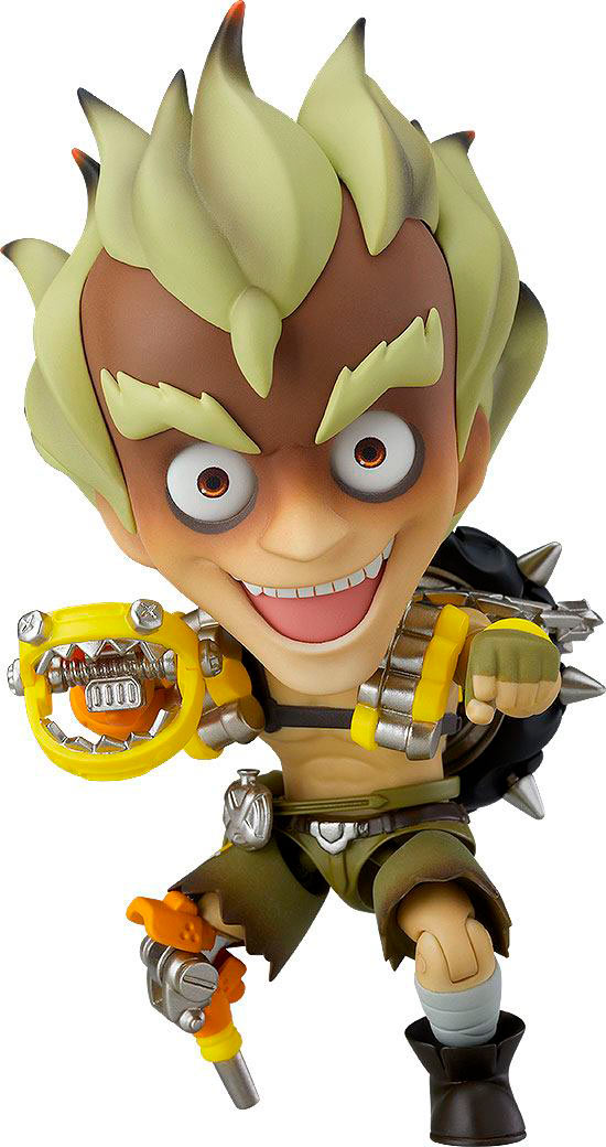 Figura Junkrat Classic Skin Edition 10 cm. Overwatch. Nendoroid. Good Smile Company