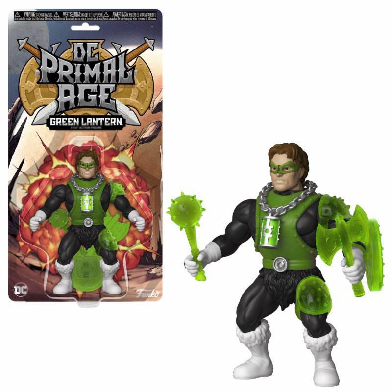 Figura Linterna Verde 13 cm. DC Primal Age. DC Cómics. Funko
