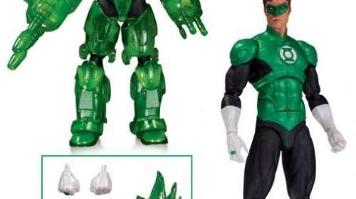 Figura Linterna Verde Hal Jordan 17 cm. Edición exclusiva. DC Cómic Icons