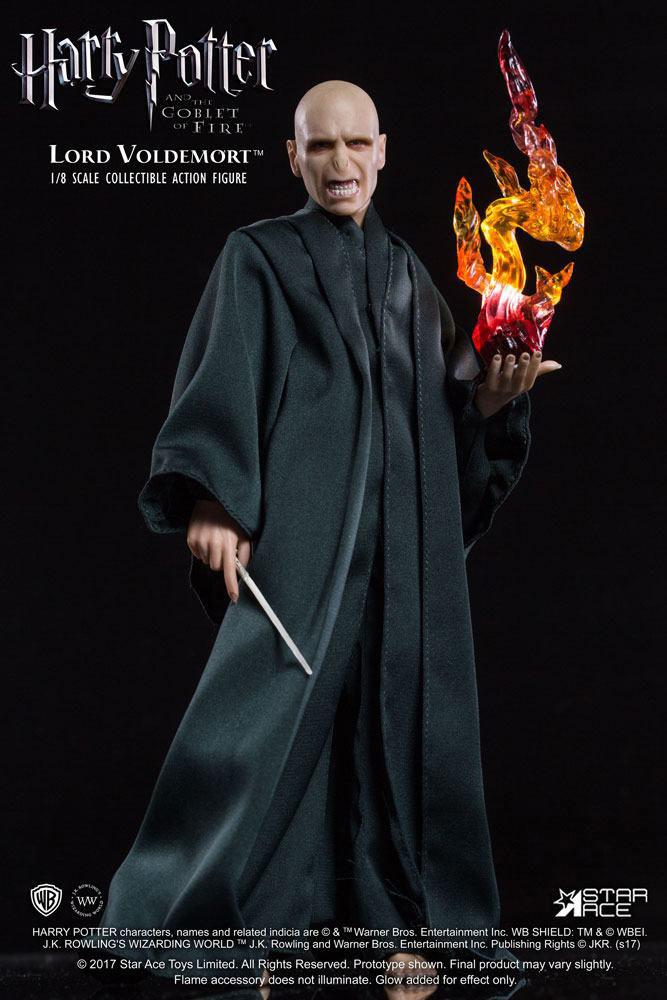 Figura Lord Voldemort 23 cm. Harry Potter y el cáliz de fuego. Con luz. Escala 1:8. Star Ace Toys
