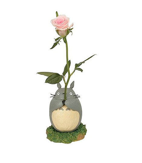 Figura Maceta para Flor Totoro. Studio Ghibli