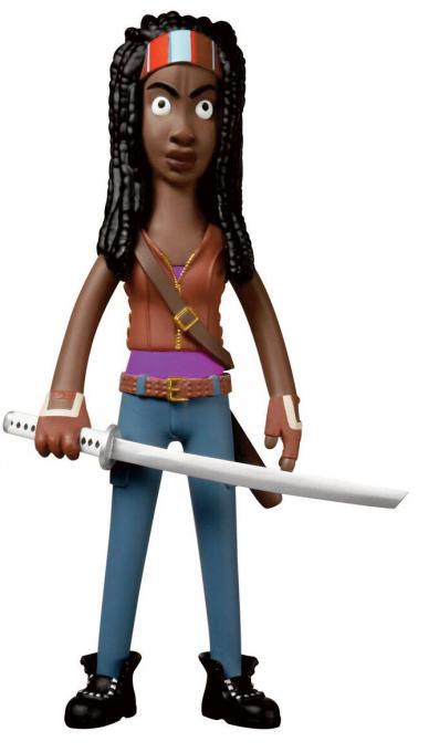 Figura Michonne 20 cm. The Walking Dead. Línea Vinyl Idolz. Funko