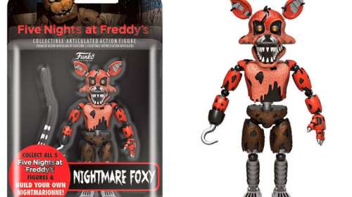 Figura Nightmare Foxy 13 cm. Five Nights at Freddy's. Funko
