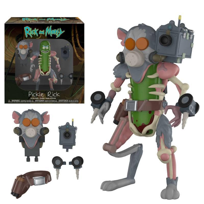 Figura Pickle Rick
