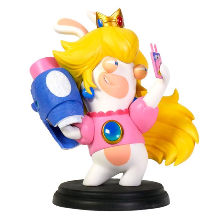 Figura Rabbid-Peach 16 cm. Mario + Rabbids Kingdom Battle