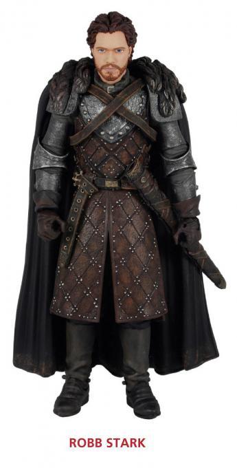 Figura Robb Stark 15 cm. Juego de Tronos. Serie 2. Funko