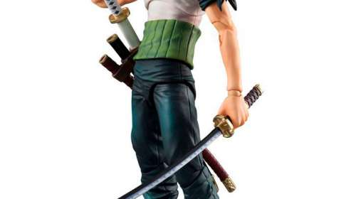 Figura Roronoa Zoro Past Blue 19 cm. Variable Action Heroes. Megahouse