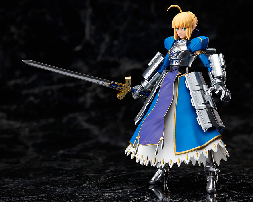 Figura Saber Arturia Pendragon 14 cm. Fate/Stay Night