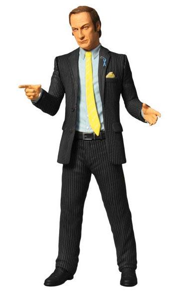Figura Saul Goodman 15 cm. Breaking Bad. Mezco Toys