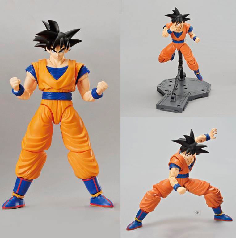 Figura Son Goku 19 cm. Dragon Ball Z. Bandai
