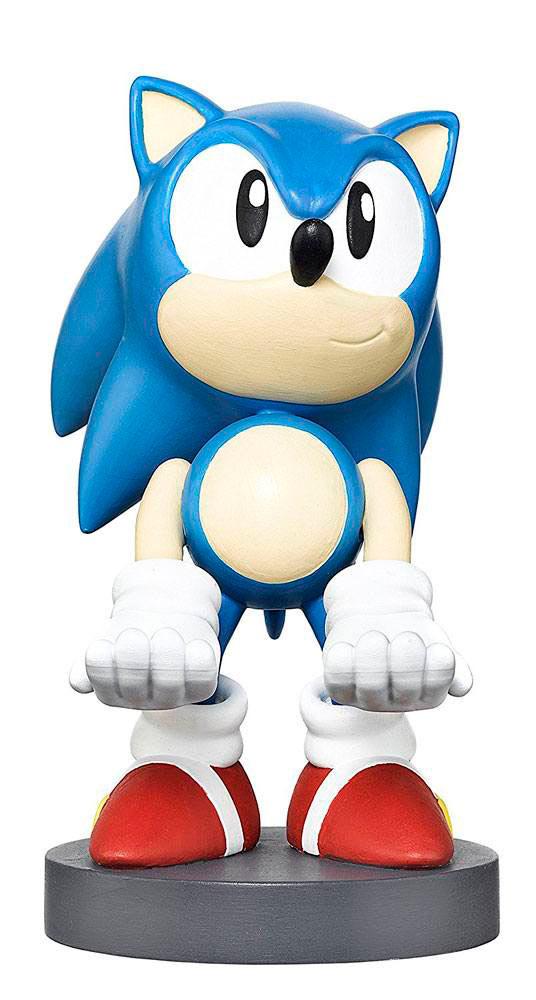 Figura Sonic 20 cm. Soporte móviles y mandos videoconsolas