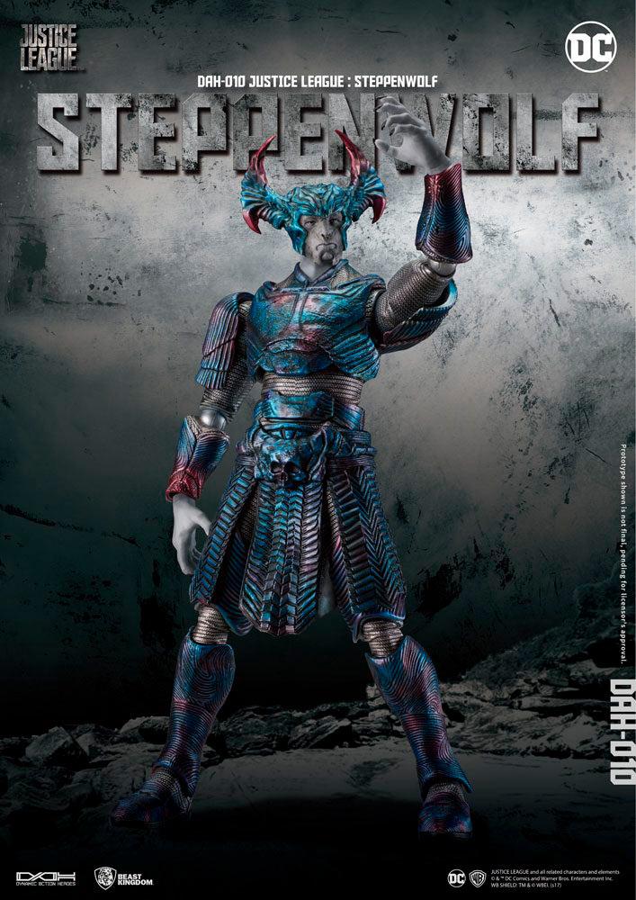 Figura Steppenwolf 22 cm. La Liga de la Justicia. DC Cómics. Beast Kingdom Toys