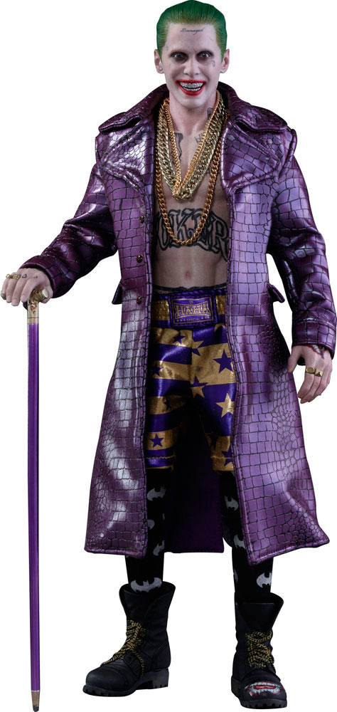 Figura The Joker (versión capa púrpura) 30 cm. Escuadrón Suicida. Línea Movie Masterpiece. Escala 1:6. Hot Toys