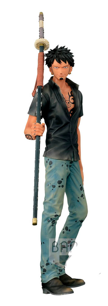 Figura Trafalgar Law 30 cm. One Piece. Línea Super Master Stars Piece. Banpresto