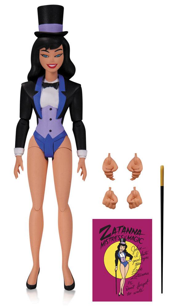 Figura Zatanna 15 cm. Batman: la serie animada. DC Collectibles