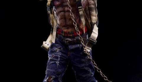 Figura Zombie 30 cm. Modelo 2. Escala 1/6. The Walking Dead. ThreeZero