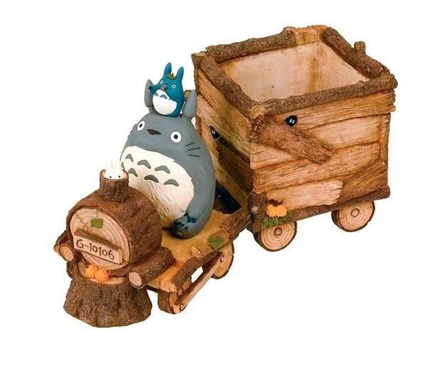Figura maceta Totoro 25 cm. Mi vecino Totoro. Studio Ghibli