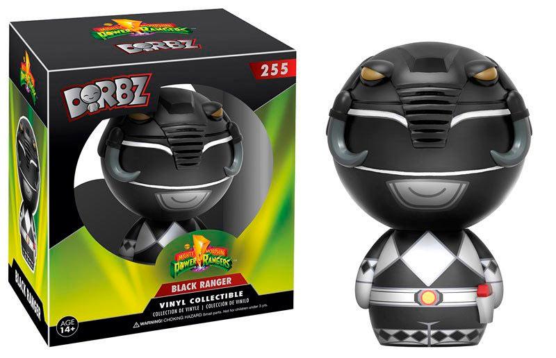 Funko POP Black Ranger 8 cm. Power Rangers